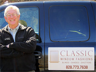 Steven Margolies Classic Window Fashions Blowing Rock NC Blinds Shades and Shutters